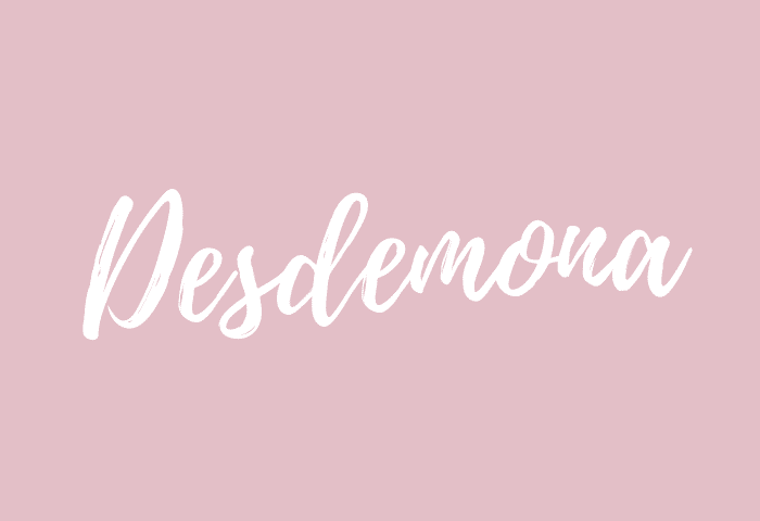 Desdemona name meaning