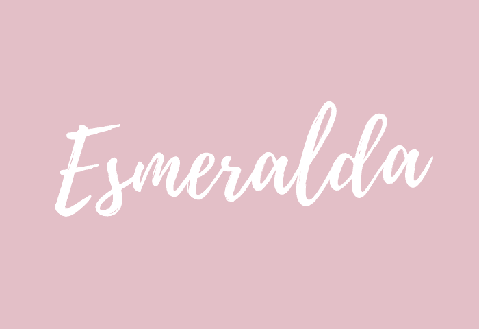 Esmeralda name meaning