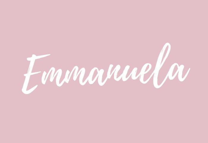 Emmanuela name meaning