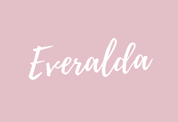 Everalda name meaning