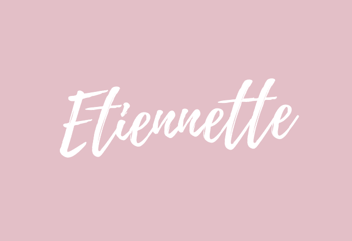 Etiennette name meaning