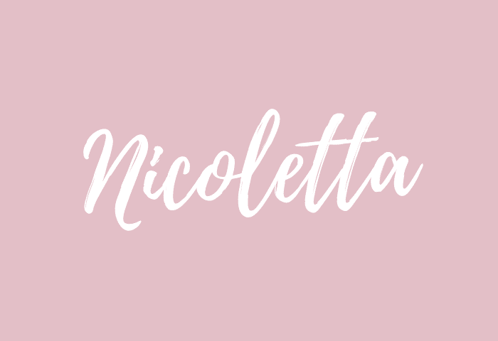 Nicoletta name meaning