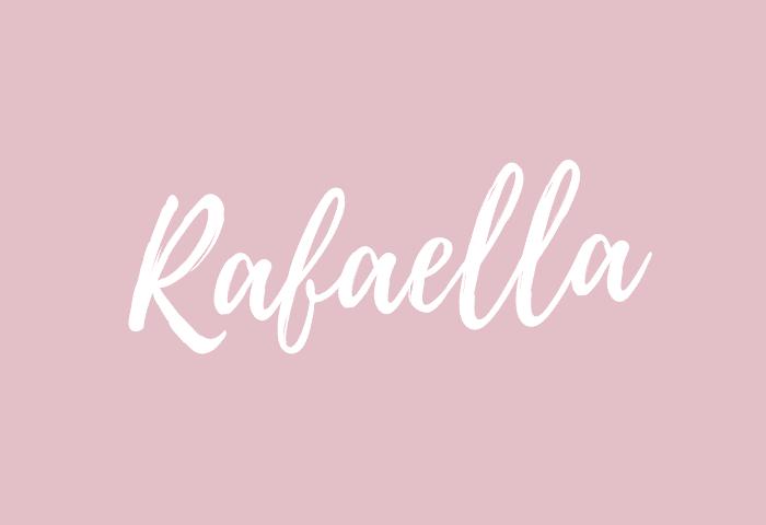 Rafaella name meaning