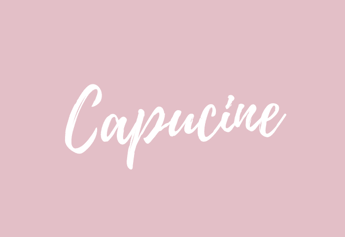Capucine name meaning