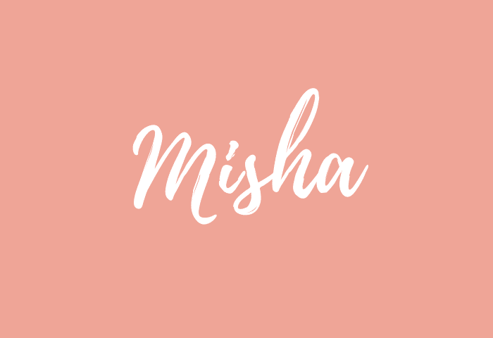 Misha name meaning