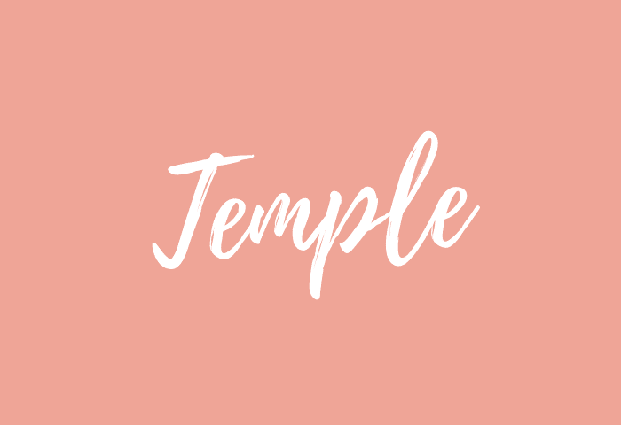 Temple name meaning