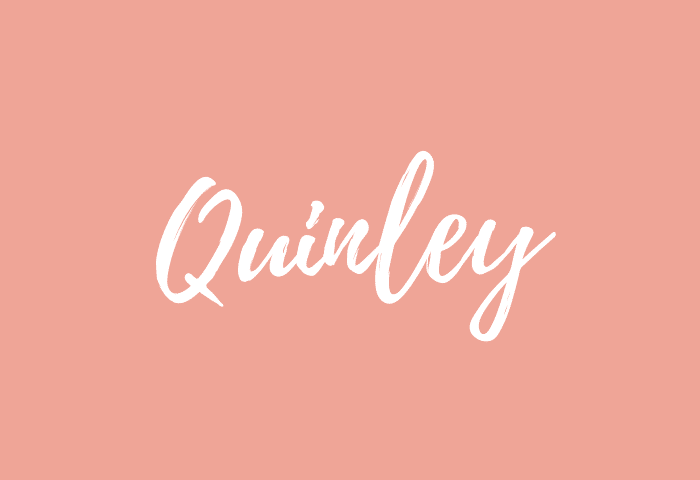 Quinley name meaning