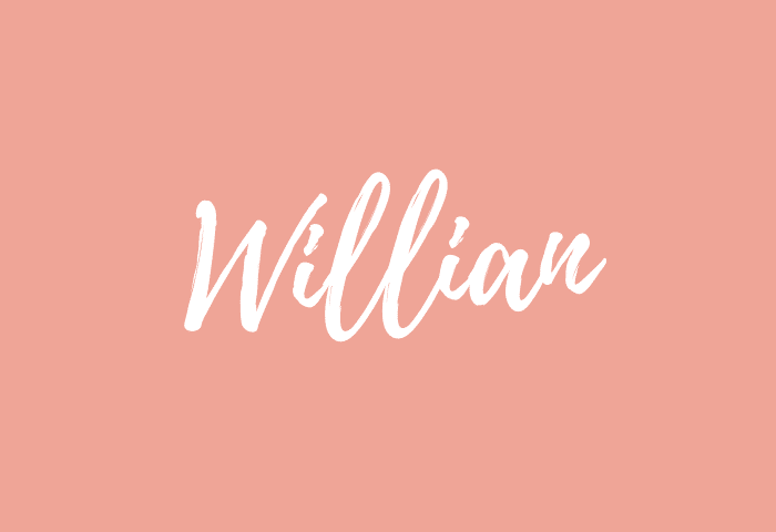 willian name meaning