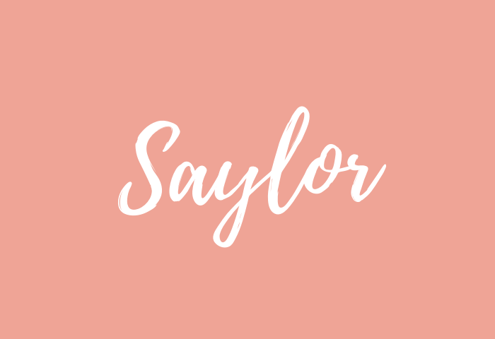 Saylor name meaning