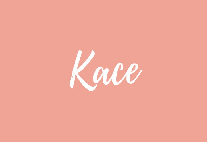 Kace name meaning
