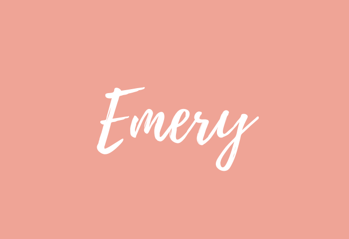 Emery name meaning