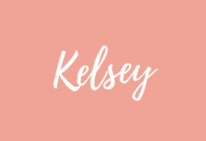 Kelsey name meaning