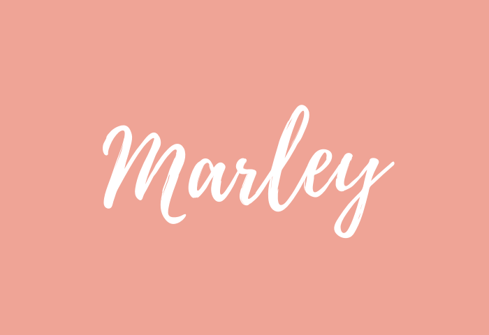Marley name meaning