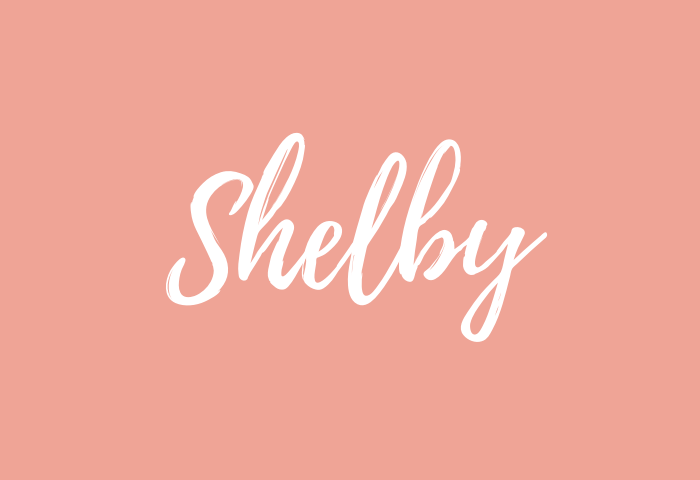 Shelby name meaning