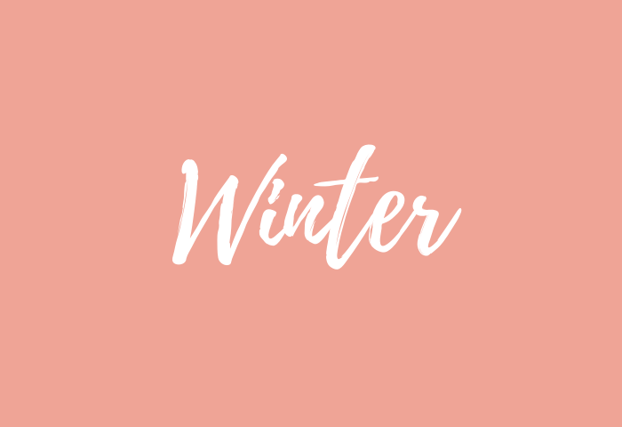 Winter name meaning