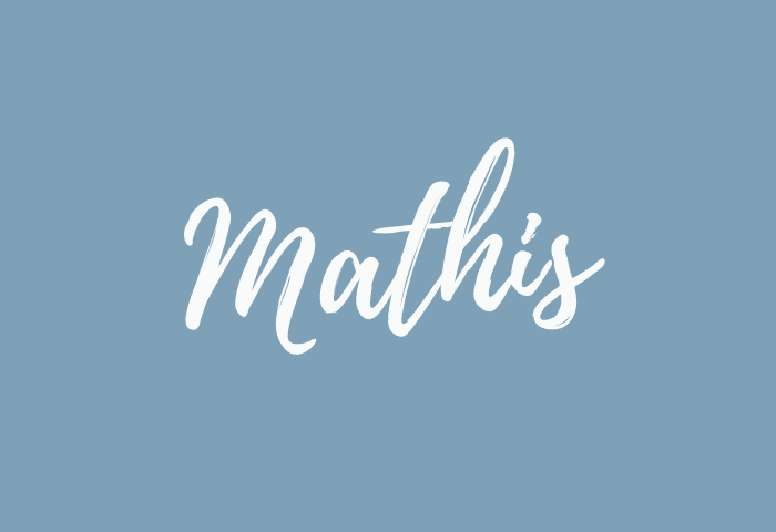 Mathis name meaning