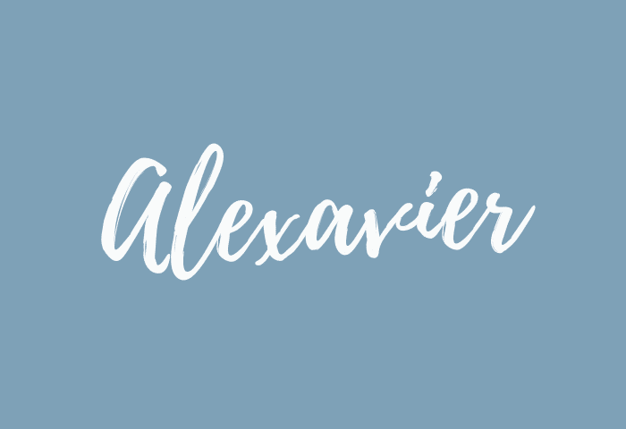 Alexavier name meaning