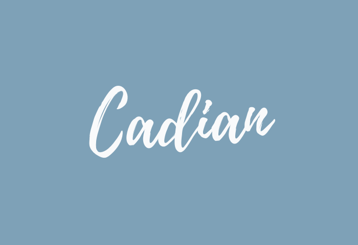 Cadian name meaning