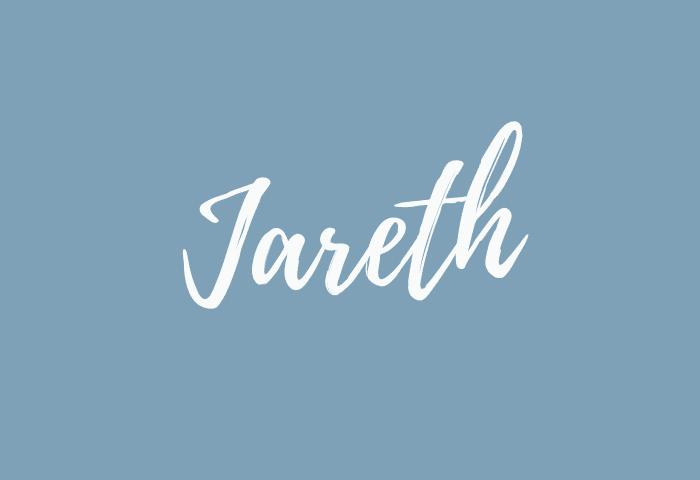 Jareth name meaning