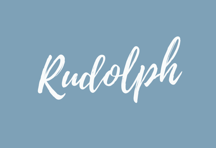 Rudolph name meaning