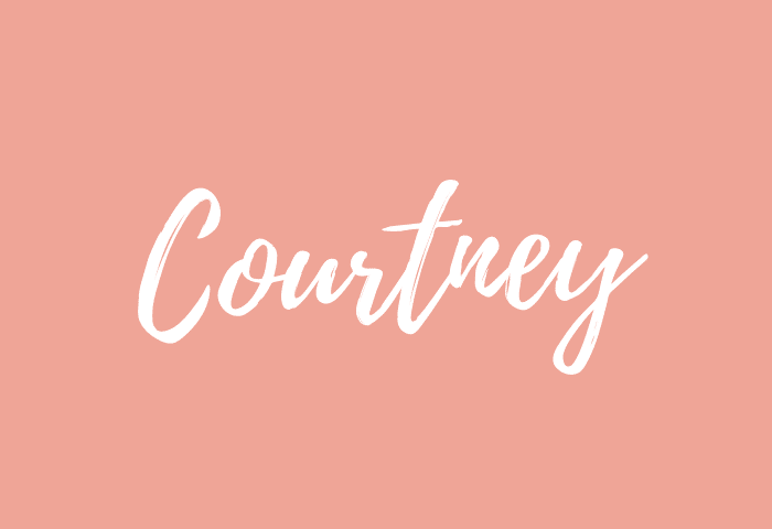 Courtney name meaning