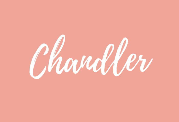 Chandler name meaning