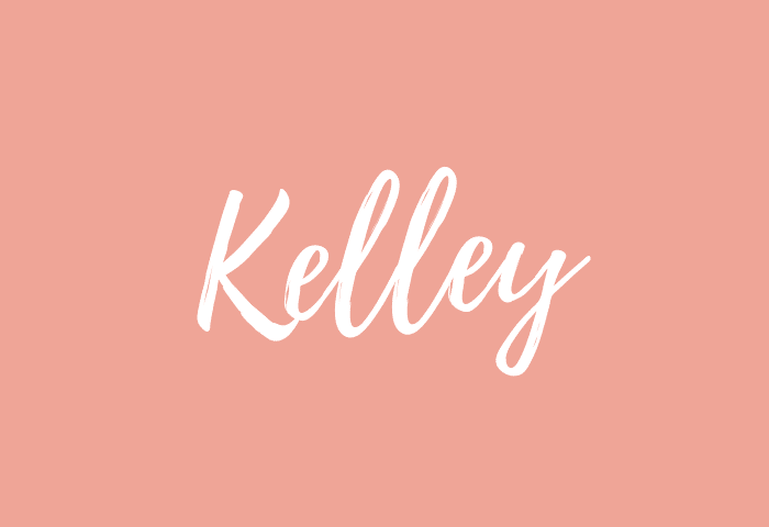 Kelley name meaning